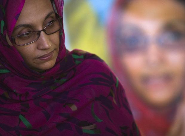 Aminetu Haidar, activista saharaui
