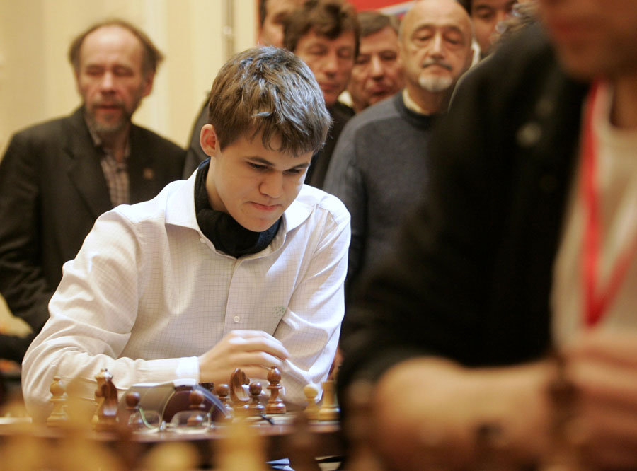 Magnus Carlsen, número uno del ajedréz