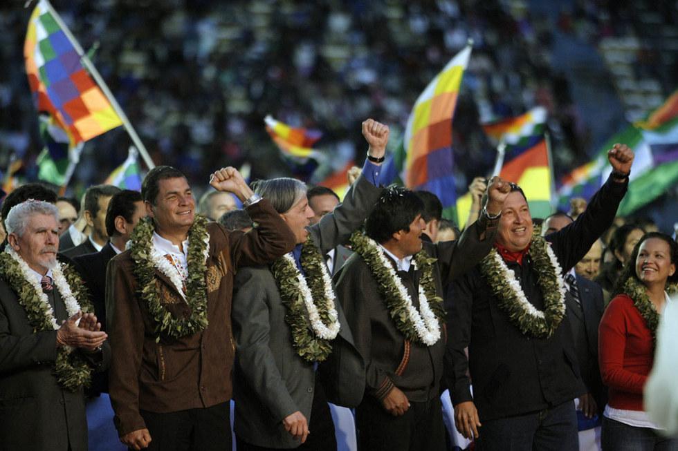 Toma de posesión de Evo Morales