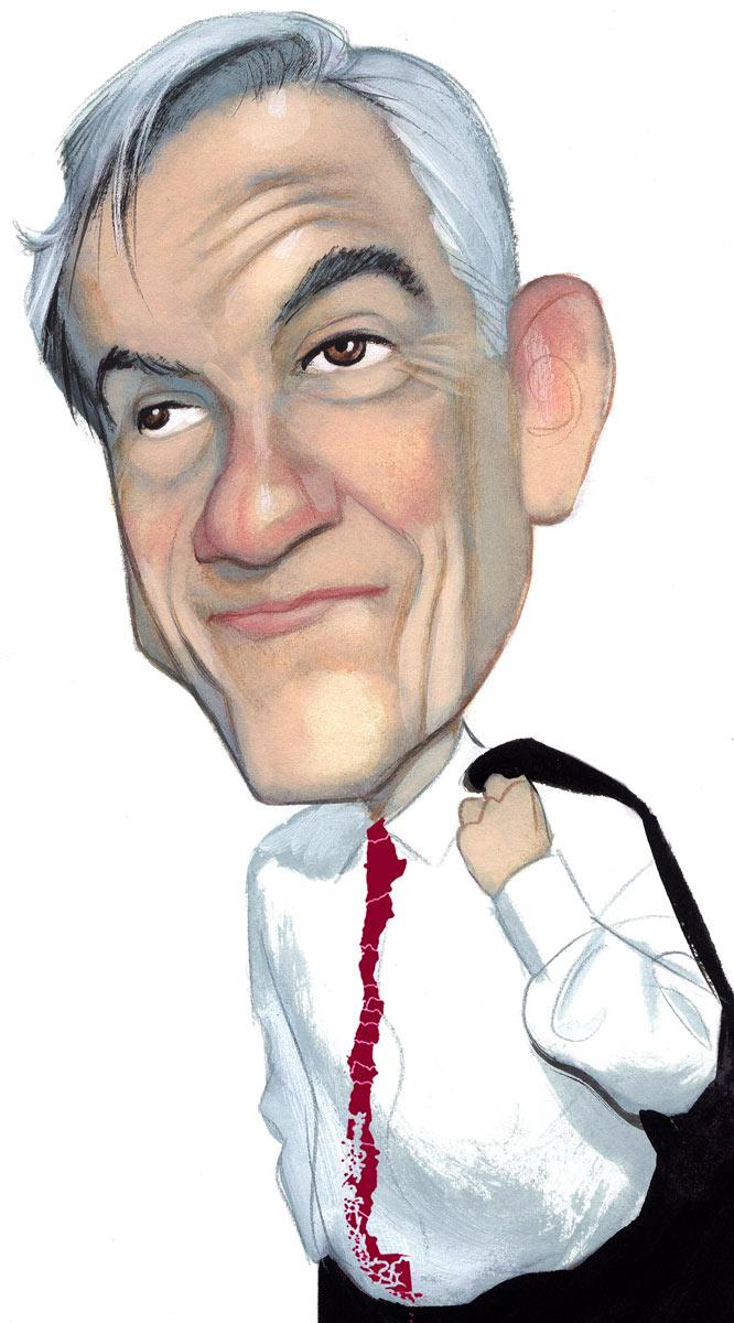 Caricatura de Sebastián Piñera