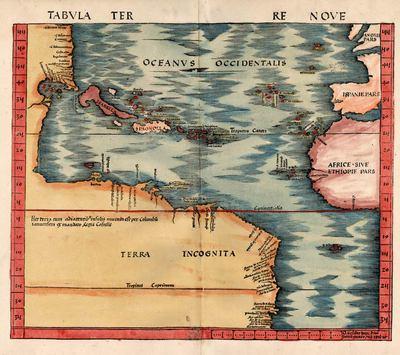 Mapa de la Terra Nova