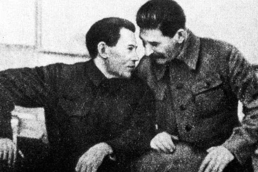 Stalin y Nikolai Ezhov