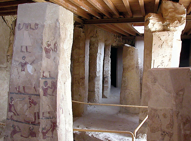 Tumba del nomarca egipcio Ankhtifi
