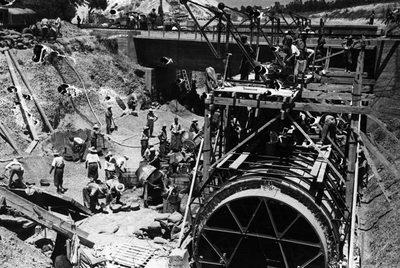 Presos republicanos en la construcción del Canal del Guadalquivir
