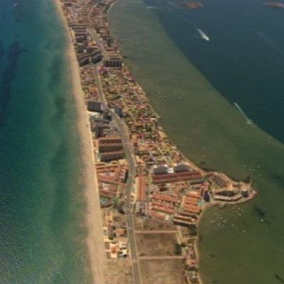 imágene aéreas del Mar Menor