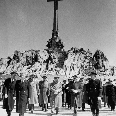 Inauguración del Valle de los Caídos en 1959