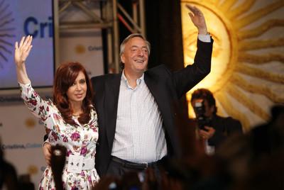 kirchner, president argentina, death