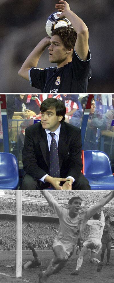 Marcos en su debut, Marcos Alonso y su abuelo Marquitos