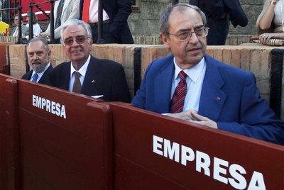 Manuel Aragón, Ramón Rodríguez Arribas y Guillermo Jiménez