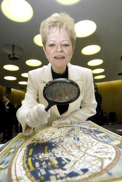 La directora de la Biblioteca Nacional Milagros del Corral.- EFE