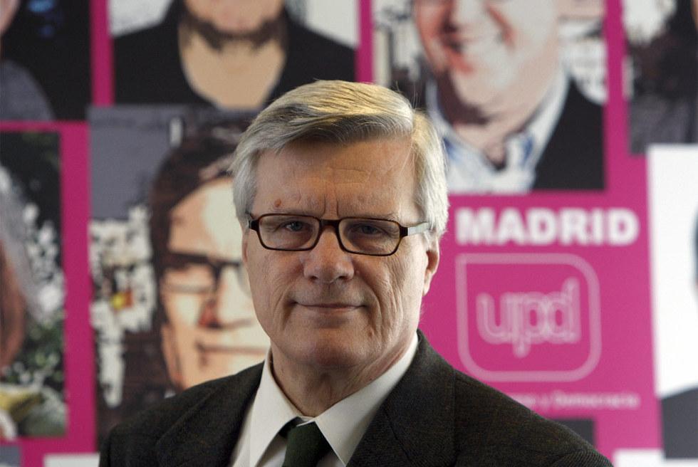 El coordinador de UPyD, Javier García Núñez.- ÁLVARO GARCÍA