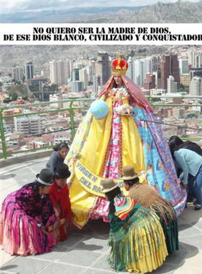 'La Virgen Barbie'