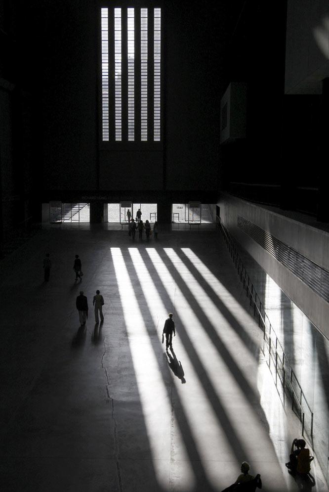 La Sala de Turbinas recibe a los visitantes a la Tate Modern londinense.- REUTERS
