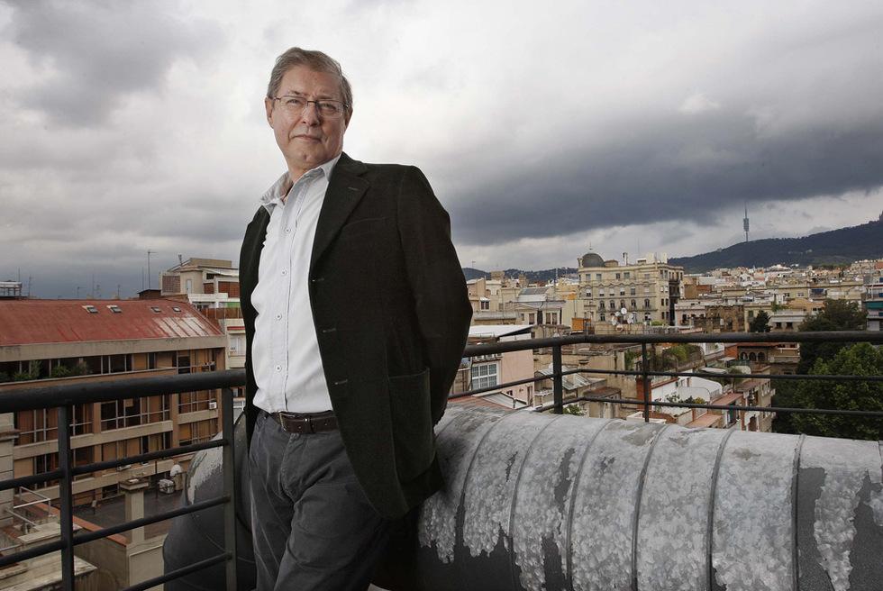 Félix de Azúa, el miércoles en Barcelona.- SUSANNA SÁEZ