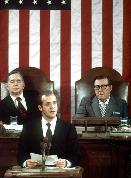 El rey Juan Carlos, en Washington ante el Congreso de los Estados Unidos
