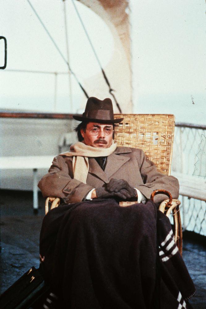 Dirk Bogarde, en un fotograma de la película Muerte en Venecia (1971), de Luchino Visconti.-