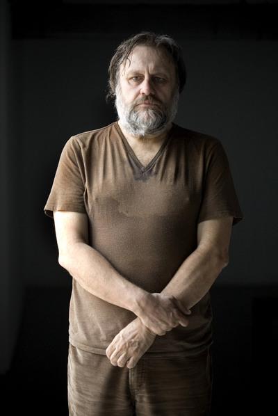 Slavoj Zizek, filósofo esloveno