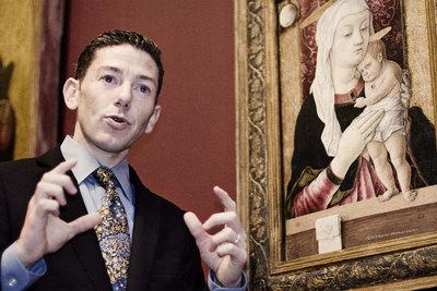John Marciari, experto en pintura italiana y española, y conservador del Museo de Bellas Artes de San Diego.