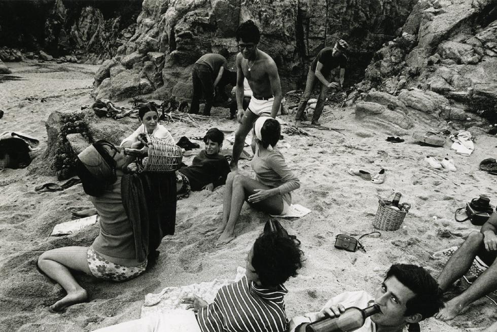 Playa de Tossa de Mar en 1965