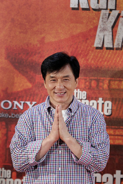 Jackie Chan, ACTOR