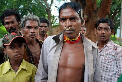 Lado Sikaka, uno de los opositores a la mina