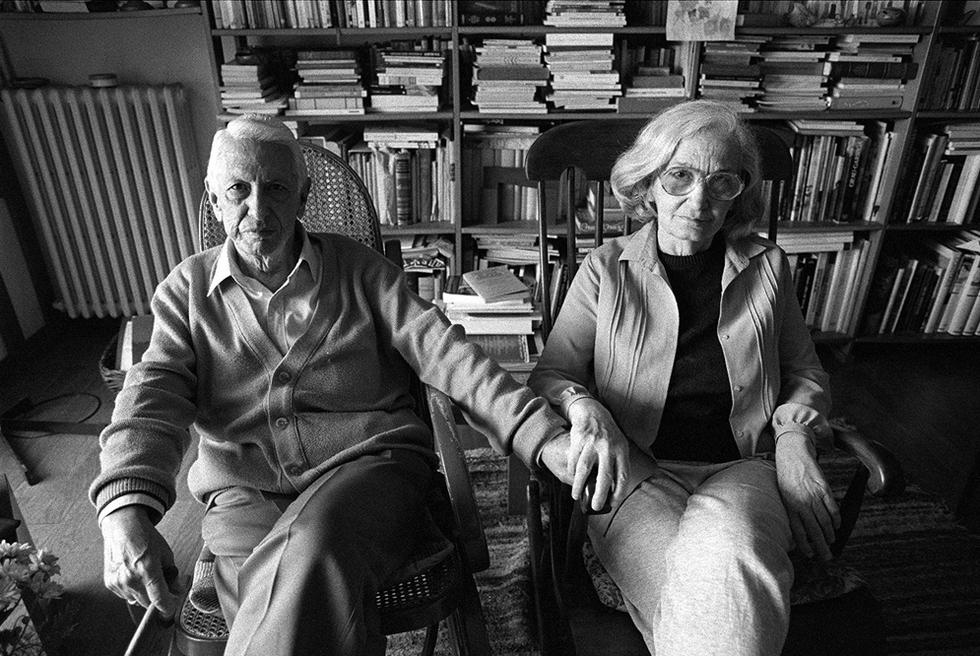 Fina García Marruz y su esposo, Cintio Vitier