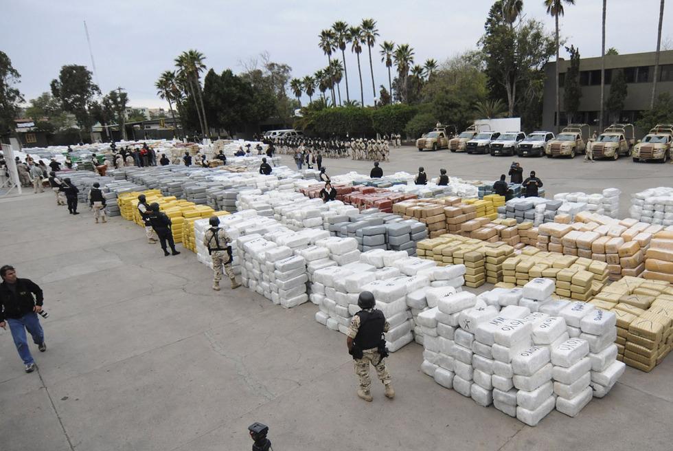 Golpe contra la marihuana en México