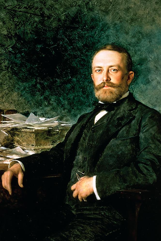 Henry Clay Frick, en un retrato realizado por Theobald Chartran fechado en 1896-