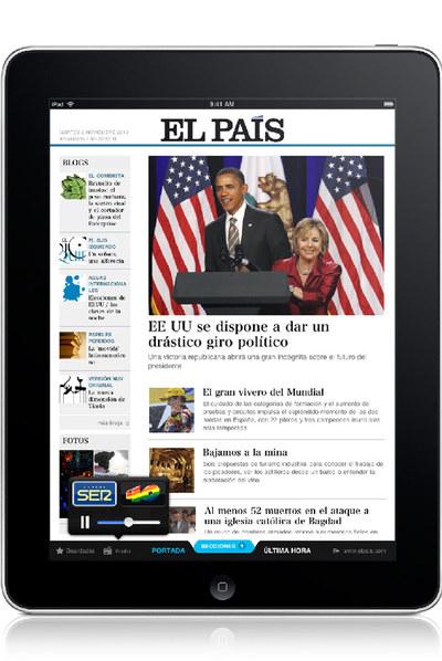 EL PAÍS se multiplica en el iPad