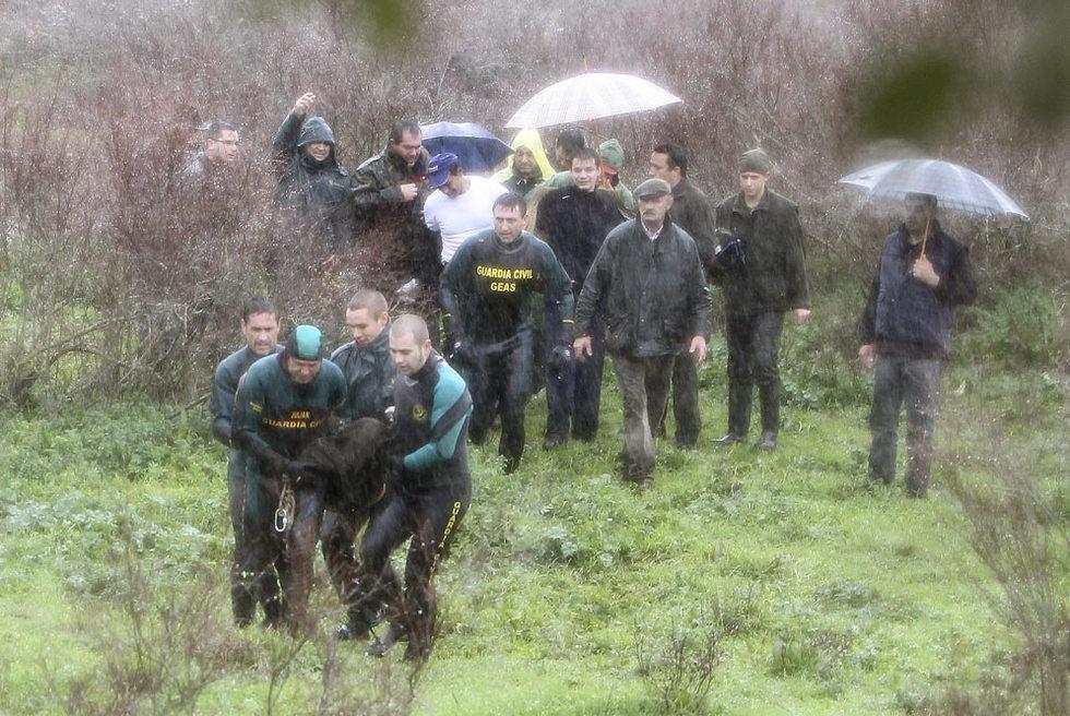 La Guardia Civil saca del río Alcudia el cadáver de un niño