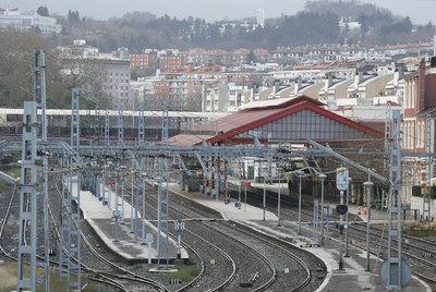 Estación de ferrocarril donostiarra de Atocha