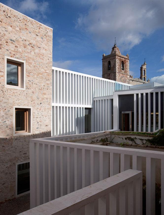 El nuevo hotel-restaurante Atrio, en el centro de Cáceres.- LUIS ASIN