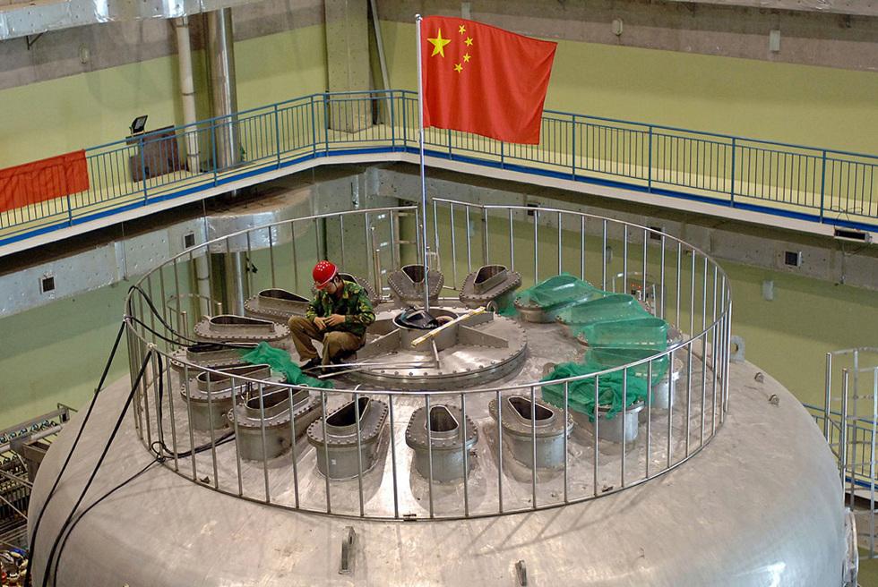 Un laboratorio nuclear en China