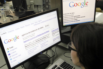 Google se enfrenta a España por el borrado de datos personales