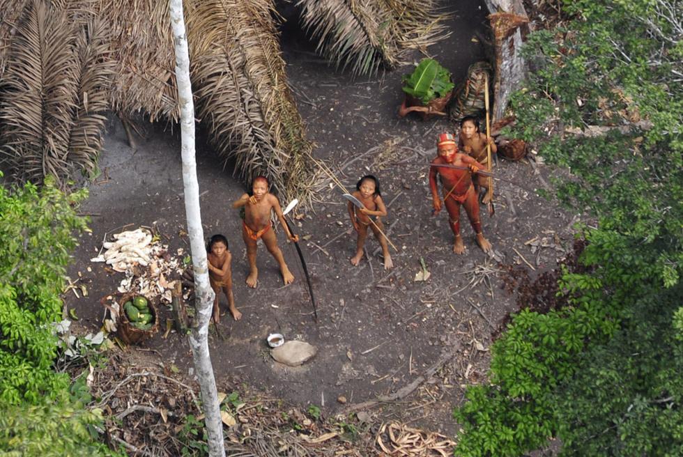 Una tribu amazónica