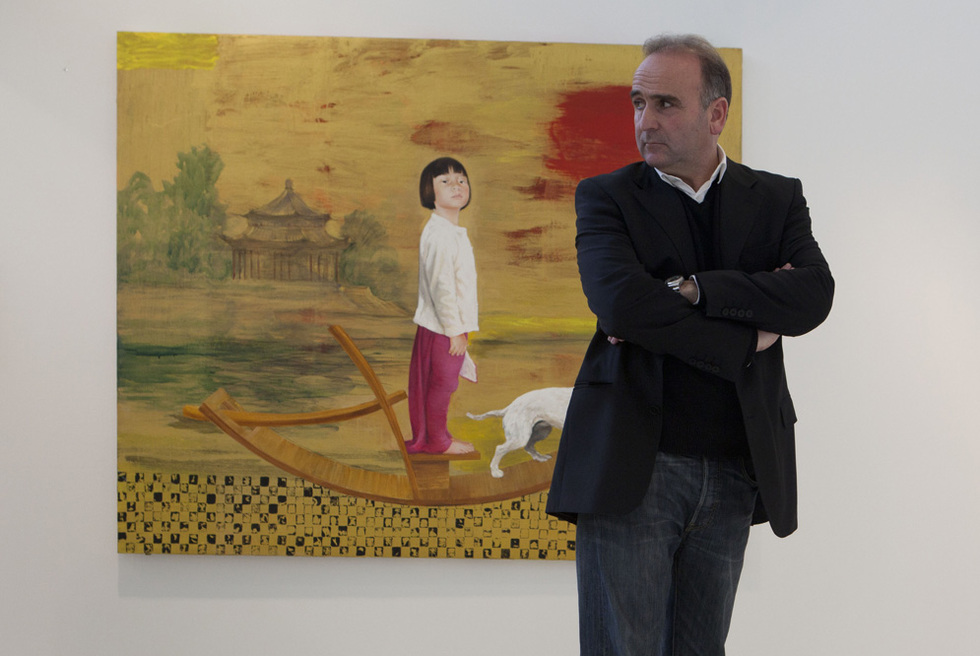 El pintor Juan Vida