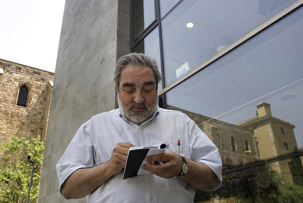 Eduardo Souto de Moura, en la Biblioteca de Cataluña.- TEJEDERAS