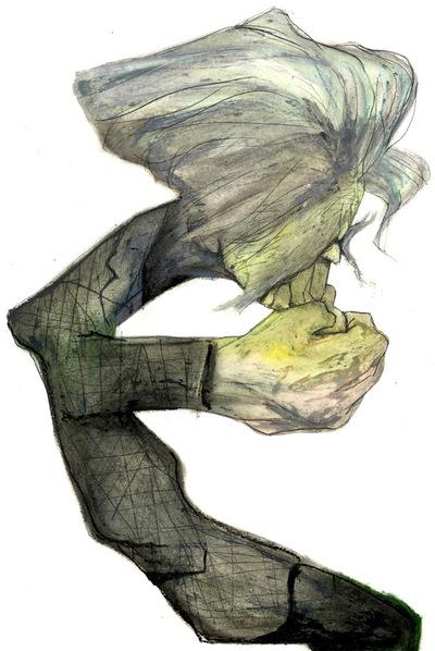 Caricatura por Sciammarella