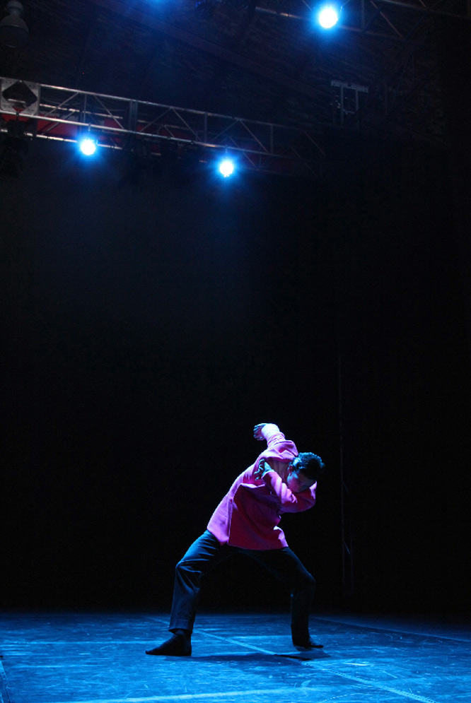 Manuel Rodríguez, bailarín