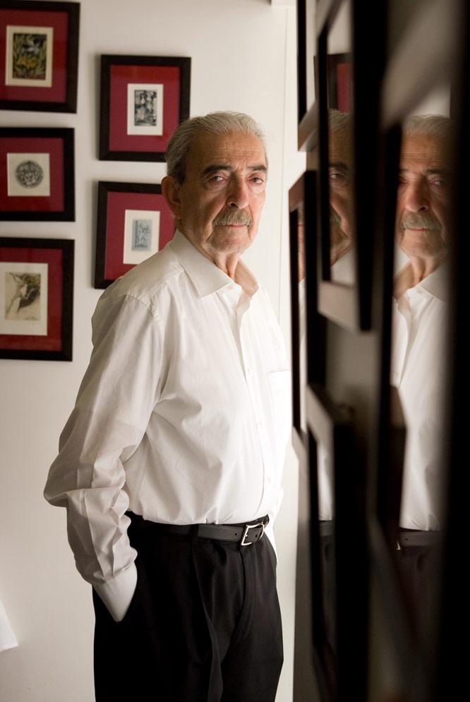 El poeta Juan Gelman