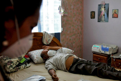 Adolfo Nieto, afectado por el jarabe venenoso