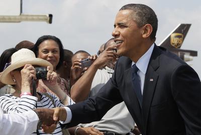 Un presidente de EE UU visita Puerto Rico 50 años después
