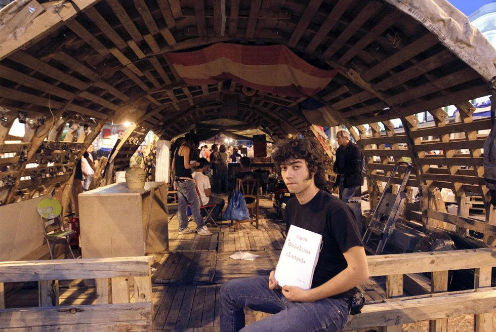 Alberto Araico, el 'arquitecto del 15-M'