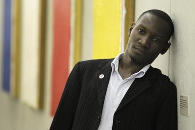 El activista ugandés Wamala Dennis