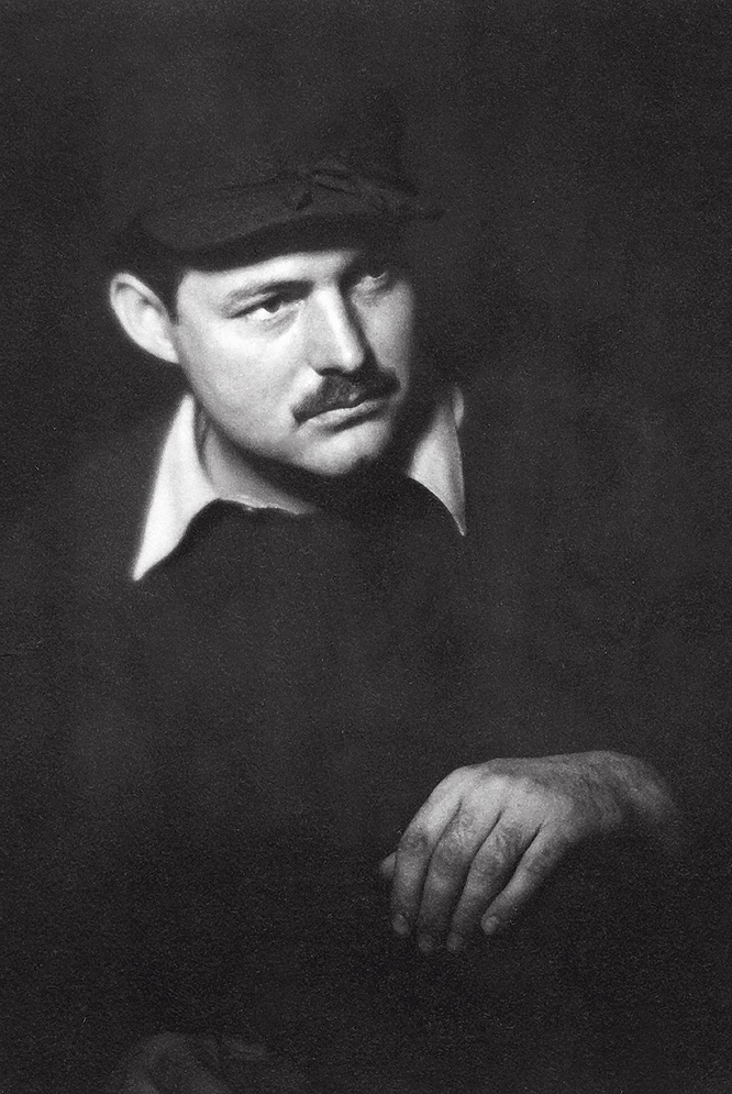 El escritor, Ernest Hemingway