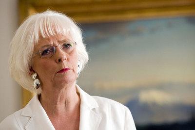 Jóhanna Sigurdardóttir, primera ministra islandesa