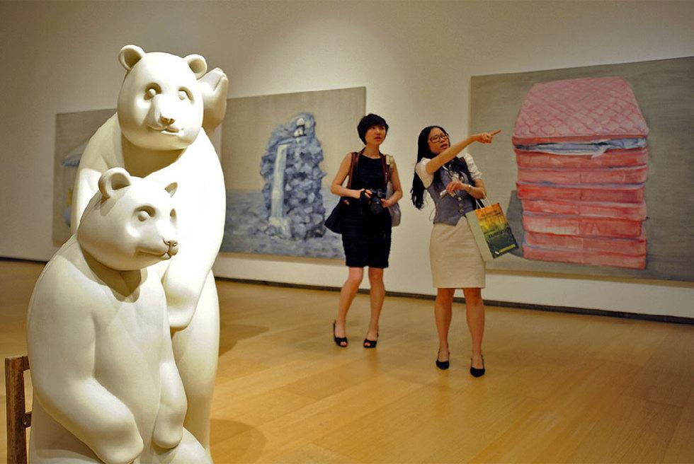 Obras de artistas chinos en el IVAM
