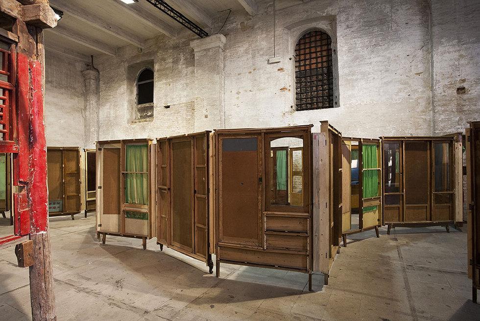 Parapavilion, instalación de Song Dong en la Bienal de Venecia.- FRANCESCO GALLI
