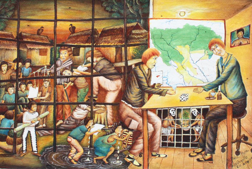 La autonomía negada, de Brus Rubio, que cuenta la historia del pueblo huitoto-murui-