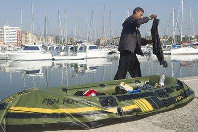 Embarcación hinchable
